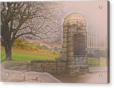 Stone Gate Acrylic Print by Tom Gari Gallery-Three-Photography