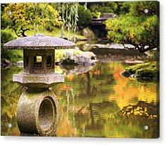 Japenese Garden Acrylic Print