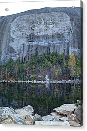 Stone Mountain - 2 Acrylic Print by Charles Hite