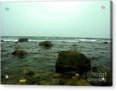 Stone Ocean Acrylic Print