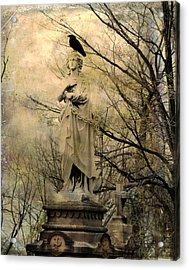 Stone Perch Acrylic Print by Gothicrow Images