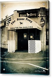 Stone Pony Acrylic Print by Colleen Kammerer