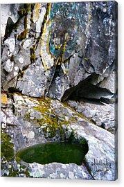 Stone Pool Acrylic Print