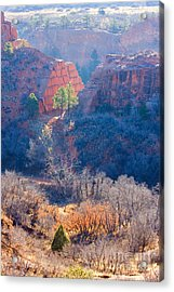 Stone Quarry At Red Rocks Open Space Acrylic Print