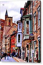 Stone Row - Jim Thorpe Pa Acrylic Print