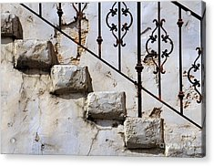 Stone Stairs Acrylic Print by Dan Holm
