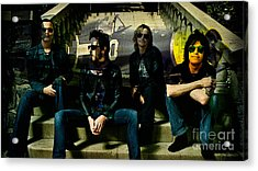 Stone Temple Pilots Acrylic Print by Marvin Blaine
