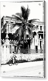 Acrylic Print featuring the photograph Tanzania Stone Town Unguja Historic Architecture - Africa Snap Shots Photo Art by Amyn Nasser