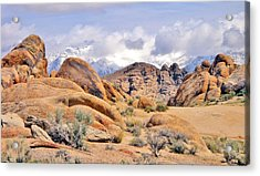 Acrylic Print featuring the photograph Stoned by Marilyn Diaz