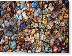Stoned Stones Acrylic Print