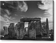 Stonehenge Historic Monument Acrylic Print