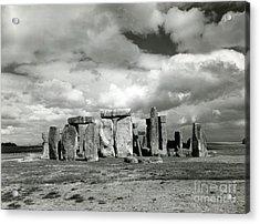 Stonehenge Prehistoric Monument Acrylic Print by Science Source