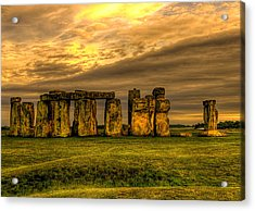 Stonehenge Acrylic Print by Svetlana Sewell
