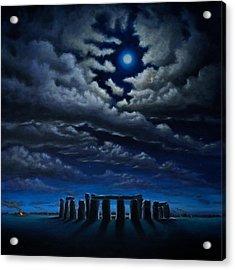 Stonehenge - The People's Circle Acrylic Print