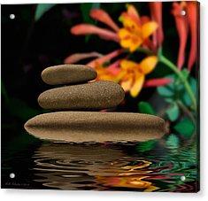 Stones 2 Acrylic Print