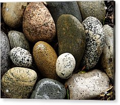 Acrylic Print featuring the photograph Stones by Carol Sweetwood