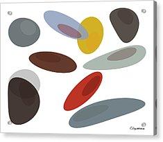 Stones Di Acrylic Print