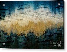 Stonewashed Blue Acrylic Print
