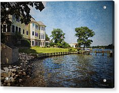 Stoney Creek Acrylic Print by Brian Wallace