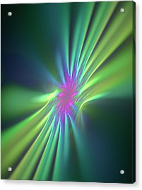 Stong Nuclear Force Conceptual Artwork Acrylic Print by David Parker