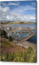 Acrylic Print featuring the photograph Stonhaven Harbour  Scotland by Jeremy Voisey