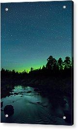 Stony River Stars Acrylic Print