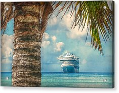 Stopover In Paradise Acrylic Print