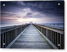 Stopping For The Big Stopper Acrylic Print
