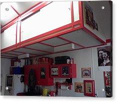 Storage Loft In Studio Acrylic Print