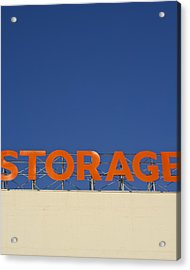 Storage Acrylic Print by Stuart Hicks