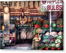 Store - Dreyer's Farm Acrylic Print by Mike Savad