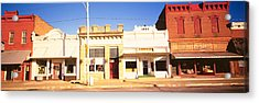Store Fronts, Main Street, Small Town Acrylic Print by Panoramic Images