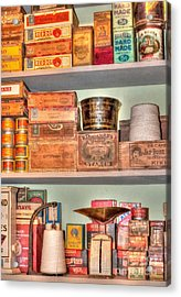 Store - General Store Acrylic Print by Liane Wright