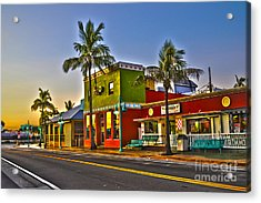 Store On Fort Myers Beach Florida Acrylic Print