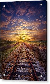 Stories To Be Told Acrylic Print by Phil Koch