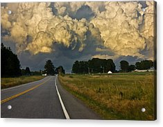 Storm Ahead Acrylic Print by Benjamin Williamson
