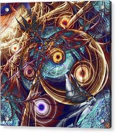 Storm Acrylic Print by Anastasiya Malakhova