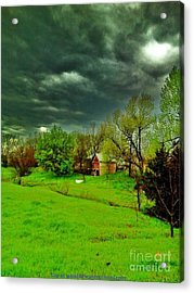Storm Anticipation Acrylic Print by PainterArtist FIN