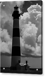 Storm At Bodie Light Acrylic Print