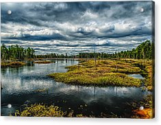 Storm At Franklin Parker Preserve - Pinelands Acrylic Print