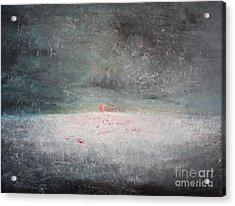 Storm At Sea Acrylic Print by Michael Kulick