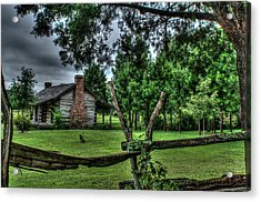 Storm At The Old Home Place Acrylic Print by Douglas Barnett