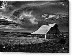 Storm Barn Acrylic Print
