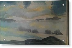 Storm Bay Acrylic Print by Judi Goodwin