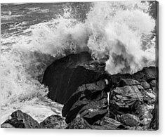 Storm Breaker Acrylic Print