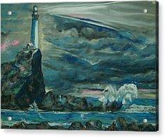 Storm Breaking Acrylic Print