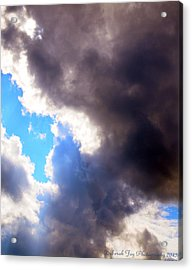 Acrylic Print featuring the photograph Storm Brewing by Deborah Fay