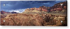 Storm Brewing In The Canyon Acrylic Print