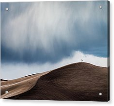 Storm Chaser Acrylic Print by John Fan