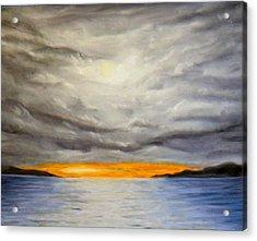 Storm Cloud Study Acrylic Print